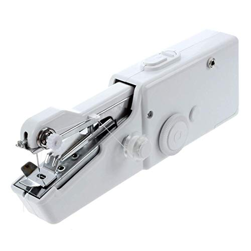 Itian Máquina de Coser del Dispositivo de Bolsillo Portátil, Herramienta Rápida Para la Puntada de Tela, Ropa