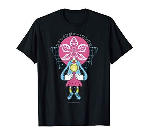 Stranger Things Day Eleven & Demorgorgon Mashup Camiseta