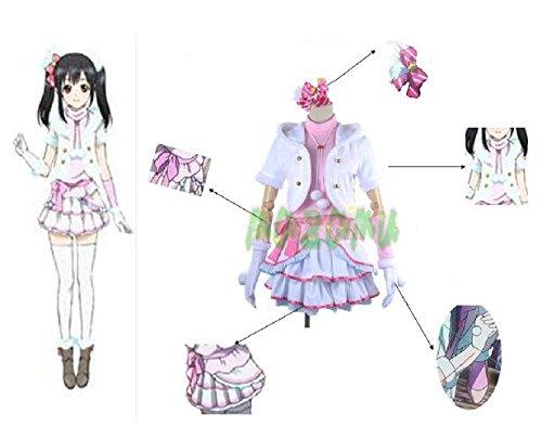 矢澤にこ LoveLive! ラブライブ! Snow halation μ's スノーハレーション コスプレ衣装 コスチューム ハロウィン クリスマス cosplay (女性L)