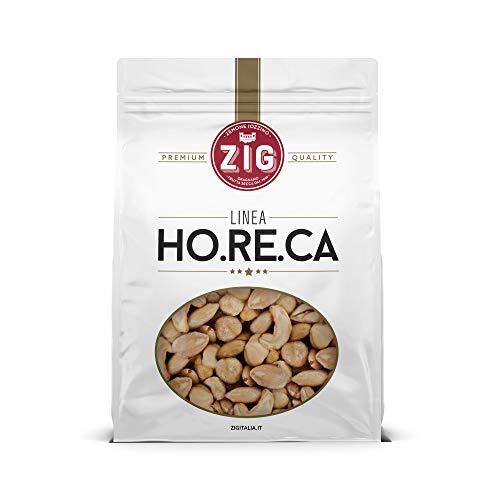 ZIG Snack mix tostato salato (arachidi, mandorle, nocciole, anacardi) 1 Kg