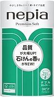 ネピア プレミアムソフト トイレットロール ダブル せっけんの香り(30m*12ロール) 8入り