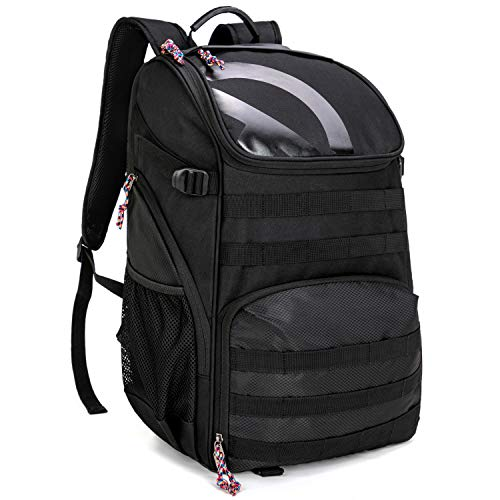 TRAILKICKER 35L Soccer Backpack with Attachable Shoe Bag and Ball Compartment, Sports Backpack for Basketball, Gym, Football & Volleyball