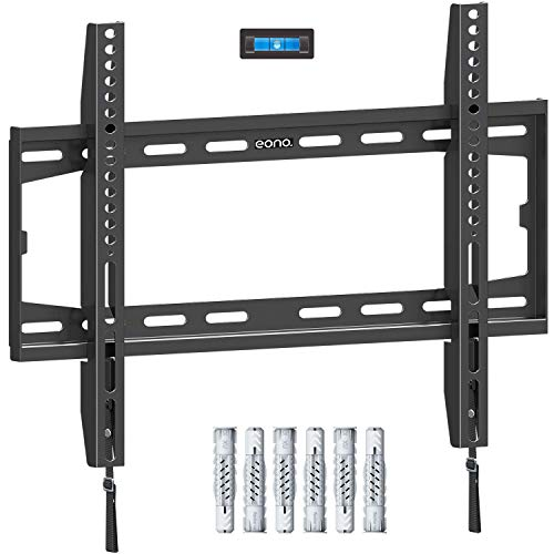 Eono by Amazon - Fixed TV Wall Bracket, Ultra Slim TV Wall Mount for...