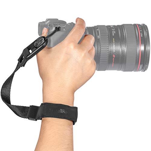 SmallRig Kamera Handschlaufe Neopren Kamera Handgelenkschlaufe Trageschlaufe für Canon Nikon Sony Fujifilm Olympus DSLR SLR -PSW2398