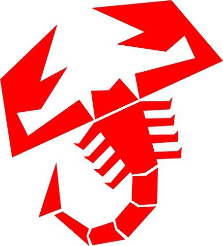 Adesiviautoemoto - INT-Abarth Scorpione Rosso Lucido 20