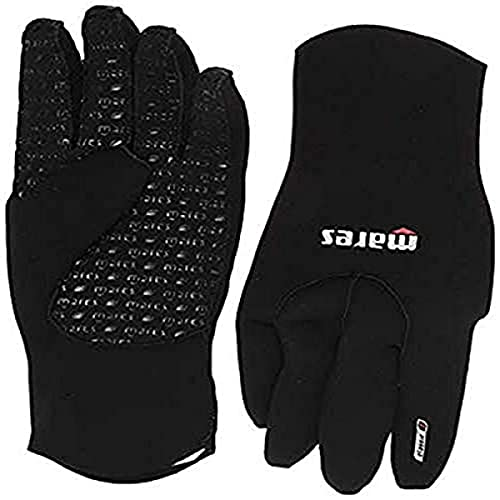 Mares Erwachsene Handschuhe Flexa Classic 3 mm, Black/Grey, L, 412719L