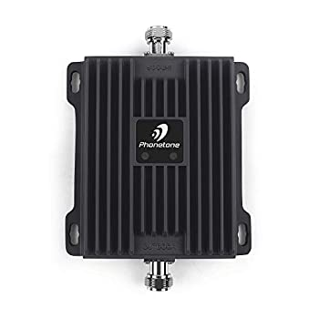 Cell Phone Signal Booster for Home and Office - Boost 4G LTE Data for Verizon AT&T and T-Mobile - 65dB Dual Band 700MHz Band 12/17/13 Cellular Repeater