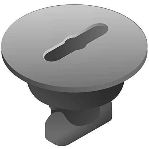 Quadro Plattenschrauben (á 8 Stck./schwarz)
