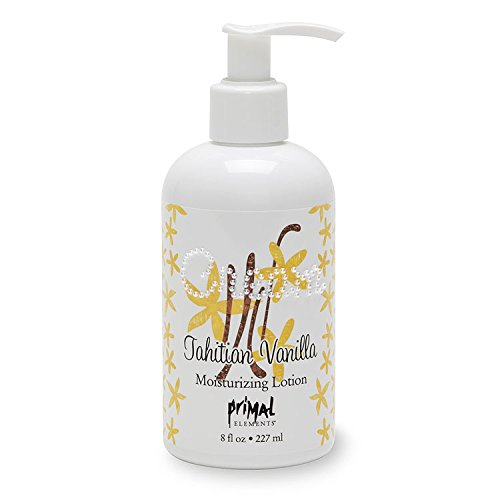 Primal Elements Hand and Body Cream Shea Butter Lotion, Tahitian Vanilla