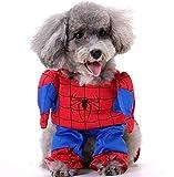 Lovelegis Disfraz de Spiderman - Spiderman - Perro - m - Idea de Regalo para Navidad...