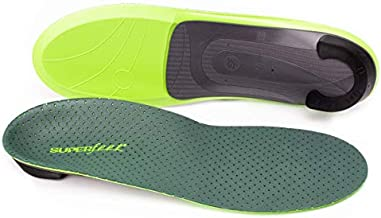 Superfeet Everyday Pain Relief Insoles, Customizable Heel Stability Professional-Grade Orthotic, Large/E: 10.5-12 US Womens / 9.5-11 US Mens