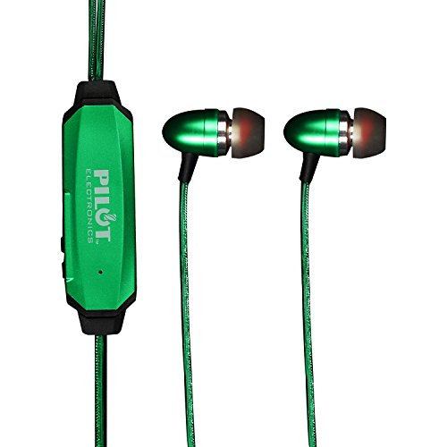 Pilot Electronics EL-1300G Electroluminescent V2 Audio Response Headphones, Green