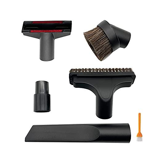 IZSOHHOME kit spazzola di ricambio compatibile con aspirapolvere universale 32mm e 35mm kit 5 pezzi con attacco in crine di cavallo