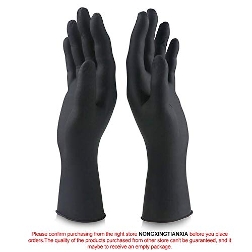 Hotaluyt 100pcs Disposable Gloves PE Garden BBQ Plastic Gloves Multifuction Restaurant Kitchen Accessories
