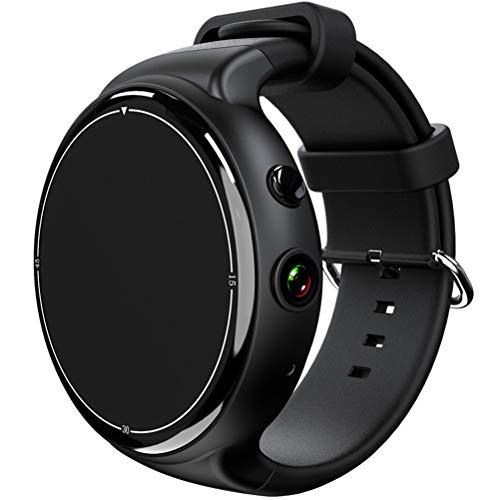 ibasenice I4 AIR 3G Smart Watch Phone MTK6580 Android 5. 1 Quad Core 2G RAM 16G ROM 2. 0MP Monitor de frequência cardíaca para câmera Pedômetro WIFI GPS SIM Smartwatch para Android IOS (preto)