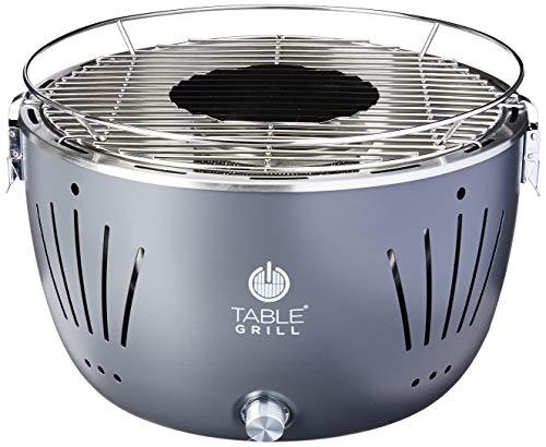 TABLE GRILL Asador portátil de carbón práctico y muy fácil de usar