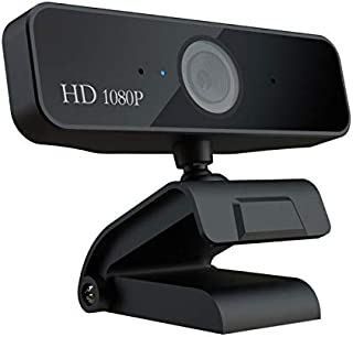 no logo MiMoo 1080P Computer HD Webcam, Laptop Video Face Recognition Autofocus USB Live Broadcast Equipment with Micropho...