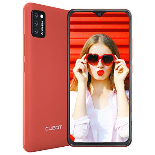 CUBOT Note 7 Cellulari Offerte 2020 Android 10.0 4G Smartphone Offerta 5.5'' Schermo Dual SIM Cellulare Batteria 3100mAh, Tripla Fotocamera 13MP+8MP 2GB RAM+16GB ROM 128 GB Espandibili Face ID GPS