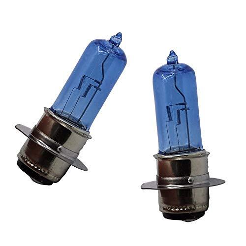 ZMDA Nueva llegada 2pcs 12V 50W xenon faros bombillas para HO.N.DA TRX250 TRX300 TRX400 TRX450 TRX700 CRF250X CRF450X RANCHER 350 400 Duradero y práctico