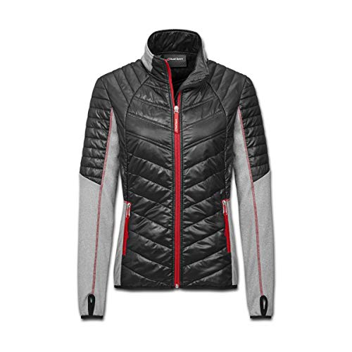 Audi collection 313180140 Audi Sport Hybridjacke, Damen, Schwarz/Grau, XS