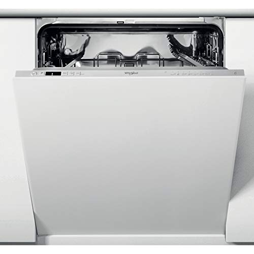 Whirlpool WIC3C26N Integrated Full Size Dishwasher, 8 Programs, Quick Wash, 14 place settings, Silver