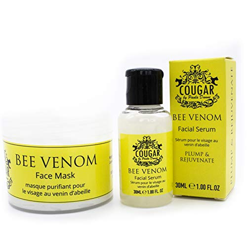 Cougar Beauty Products Bee Venom Facial Serum & Face Mask