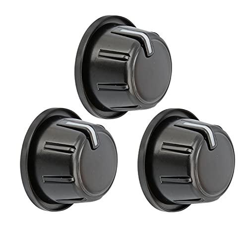 feifei Auto Aire Acondicionado Calentador Controlador botón Control botón Apto para Toyota para HILUX/Vigo 2011-2015 para Fortuner 2011-2015 (Color : 3PCS)