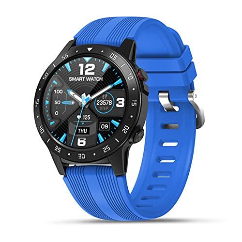 LLTG M5S Sport Smartwatch Men Support SIM Scheda SIM 1.3 Pollici Touch Touch FREQUE Cuore IP67 Bussola Impermeabile Tempo,B