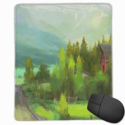 Gaming Mouse Pad, Personalized Custom Mouse Padnon-Slip Rubber Gaming Mouse Pad,Stay Positive Work Hard and Make It Happen Sunday-Drive-