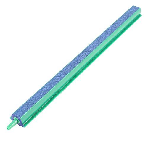 sourcing map Kunststoff Anschluss Ende Blue Air Stone Bar für Aquarium Pumpe und Hydroponik Grün 25cm