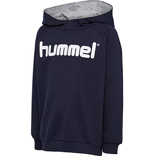 Hummel Herren Hmlgo Kids Cotton Logo Hoodie Kapuzenpullover, Marine, 152