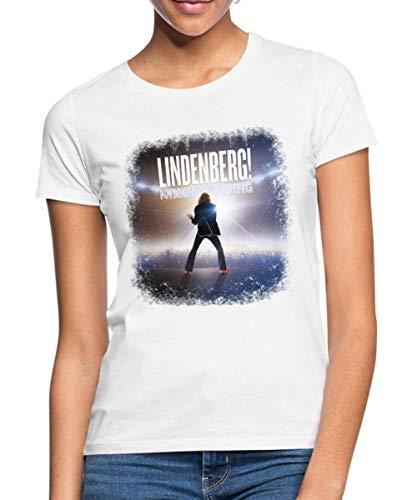 Lindenberg! Mach Dein Ding! Filmplakat Frauen T-Shirt, XL (42), Weiß