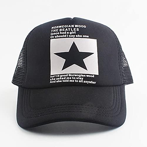 Sombrero Gorra De Béisbol Clásico Gorra De Béisbol con Estampado De Calavera Hip Hop Snapback De Malla Ajustable, Gorra
