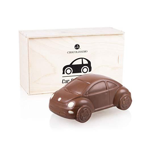 VW Beetle - Geburtstagsgeschenk | Auto aus Schokolade | Geschenk für Autoliebhaber | Kinder | Erwachsene | lustige Geschenkidee | Mann | Frau | Vatertag | Muttertag