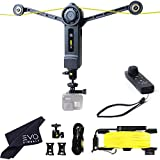 Wiral LITE Cable Cam with Remote for Action Cameras, Smartphones, 360 Camera or DSLR Mirrorless Cameras up to 3.3LBs - Film Moving Shots Even Where Drones Can't Go