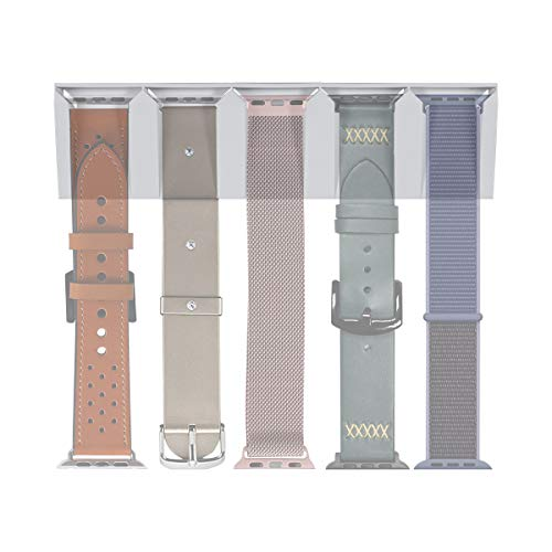 LANMU Watch Bands Storage Holder Compatible with Apple Watch Bands, iWatch Strap Organizer
