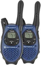 Motorola T5500AA 5-Mile 22-Channel FRS/GMRS Two-Way Radio (Pair)
