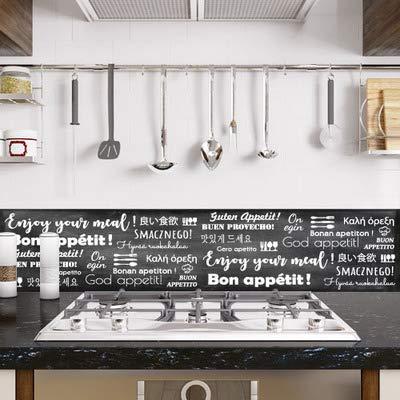 Sticker Crédence - Cuisine - Dimensions 120 cm x 50 cm