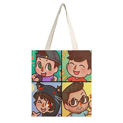 A-lbertsstuff - Borsa a tracolla da donna con fenicottero, in tela, per studenti di classe di grande capacità, con borsa a tracolla, Multicolore