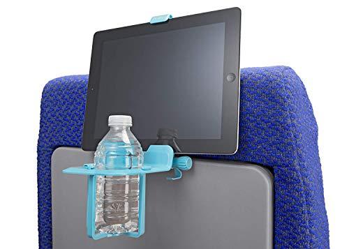 Die airhook Air Travel Tasse und elektronische Gerät Halterung (Jet Schwarz)