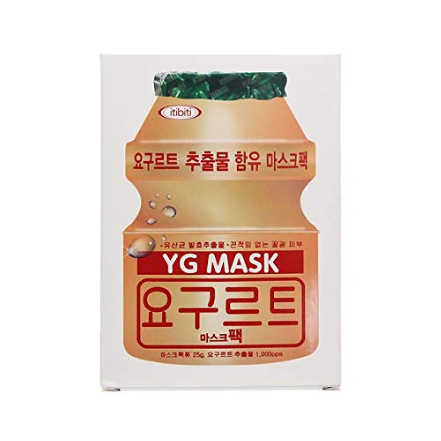 テメリティ社員周りYGマスク 25g×10枚