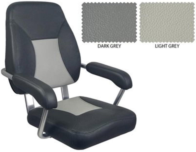 Deluxe Mini mojo seat Dark Grey and Light Grey
