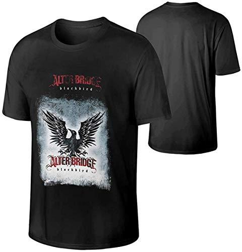 Heren Alter Bridge Blackbird Classic Rock Music Band korte mouwen T-shirt