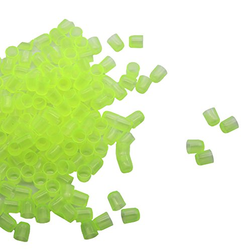 adhere to Fly 400 pcs Green Plastic arrière Queen Bee Cell Apiculture nécessaire Outils Cups