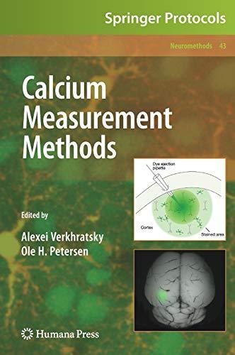 Calcium Measurement Methods (Neuromethods, 43, Band 43)