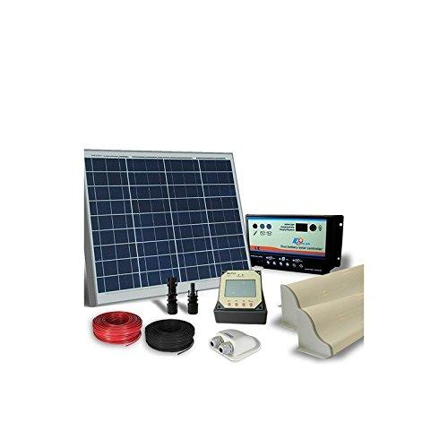 PuntoEnergia Italia - Kit Solar Camper 50W 12V Pro Panel fotovoltaico - KCP-50