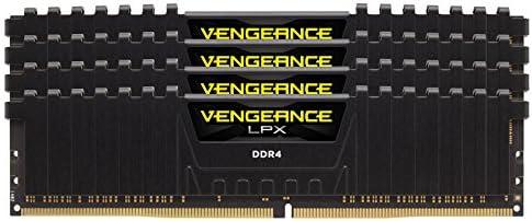 Schwarz DDR4 2400MHz C16 XMP 2.0 High Performance Desktop Arbeitsspeicher Corsair Vengeance LPX 4GB 1x4GB
