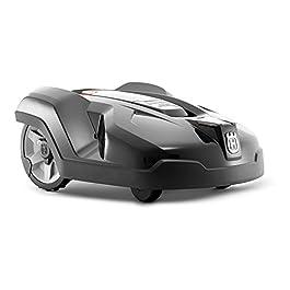 Husqvarna Automower 440 | Modèle 2018 | Le robot tondeuse innovant pour les grands jardins ou un terrain spacieux jusqu…