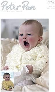 Peter Pan Baby Cardigans Knitting Pattern 1003 DK