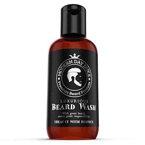 Luxuriöses Bart-Shampoo, fördert gesundes Wachstum